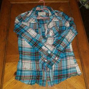 Aeropostale Shirts & Tops - Aeropostale Plaid shirt